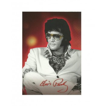 Elvis Carte Postale W/ Glasses