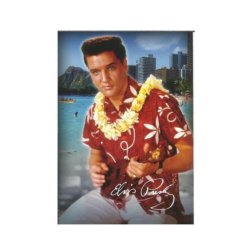 Elvis Carte Postale Hawaii