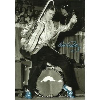 Elvis Carte Postale Dancing B.S.S.