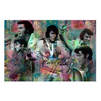 Elvis Carte Postale Collage - 50/Pack