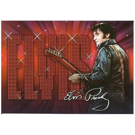 Elvis Carte Postale '68 Name In Lights