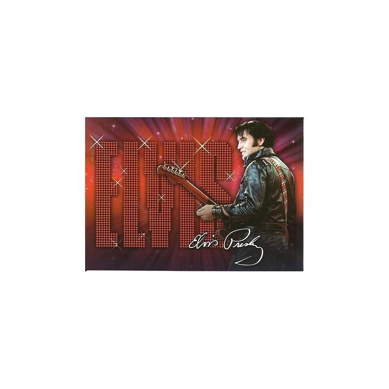 Elvis Carte Postale '68 Name In Lights