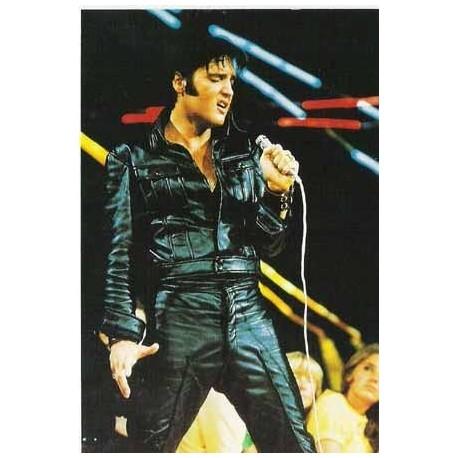 Elvis Carte Postale '68 Leather