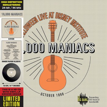 10,000 Maniacs - Halloween Live At Disney Institute (CD)
