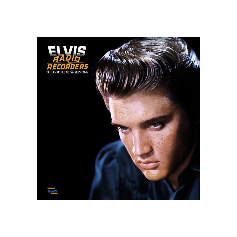 ELVIS PRESLEY - RADIO RECORDERS THE COMPLETE 56 SESSIONS - VINYLE MEMPHIS RECORDING