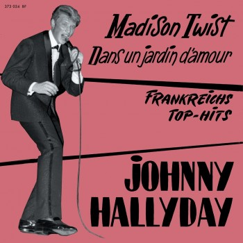 Johnny Hallyday - CD - Madison Twist - EP Pochette Allemande