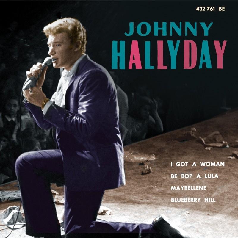 Johnny Hallyday - I Got A Woman - EP Pochette Espagnole (CD)