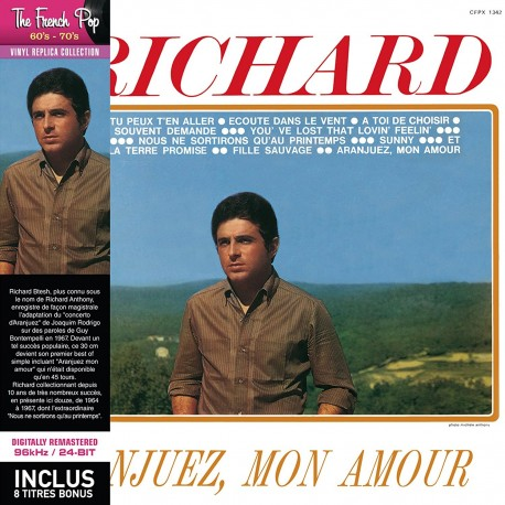 CD - Richard Anthony - Aranjuez Mon Amour