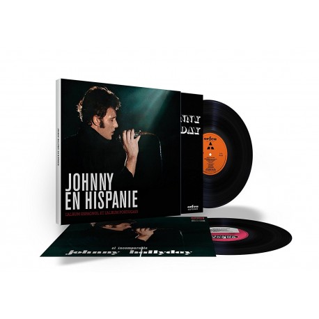 Johnny Hallyday - Coffret 33 Tours - En Hispanie (2x Vinyle Noir)