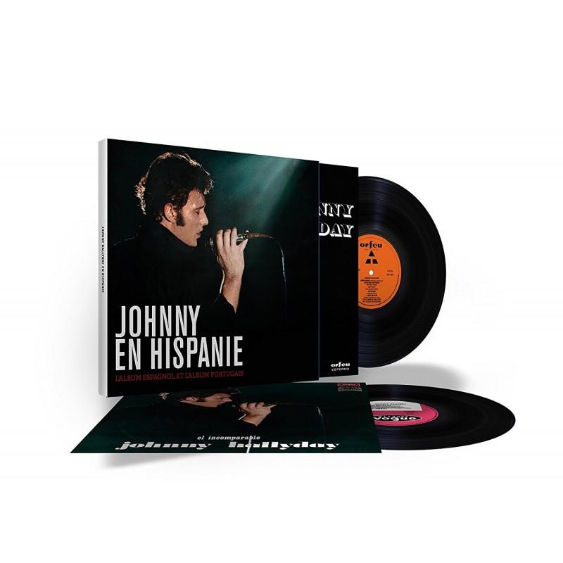 Johnny Hallyday - Coffret 33 Tours - En Hispanie (2x Vinyle Noir)