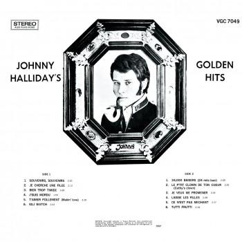 Johnny Hallyday - 33 Tours - L'album d'Afrique Du Sud - Golden Hits (Vinyle Noir)