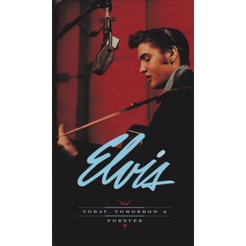 ELVIS PRESLEY  TODAY, TOMORROW AND FOREVER  COFFRET CD long box