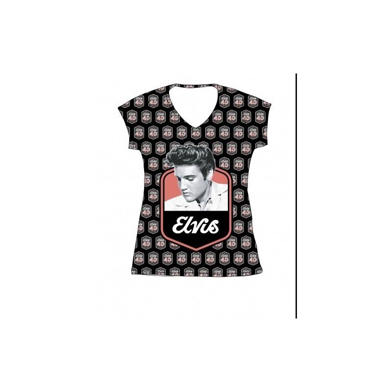 Elvis T-Shirt Lady 40th Anniversary (M)