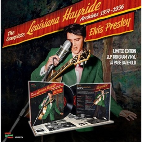 Elvis Presley - The Complete Louisiana Hayride Archives 1954-1956 (Vinyle)