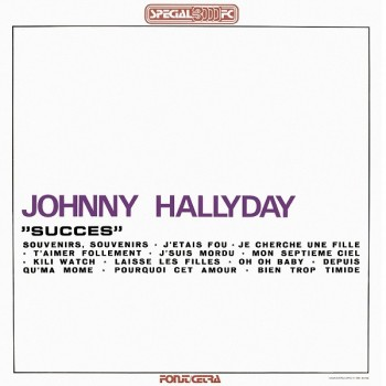 Johnny Hallyday - 33 Tours - Vogue Made In Italie - Succes (Vinyle Noir)