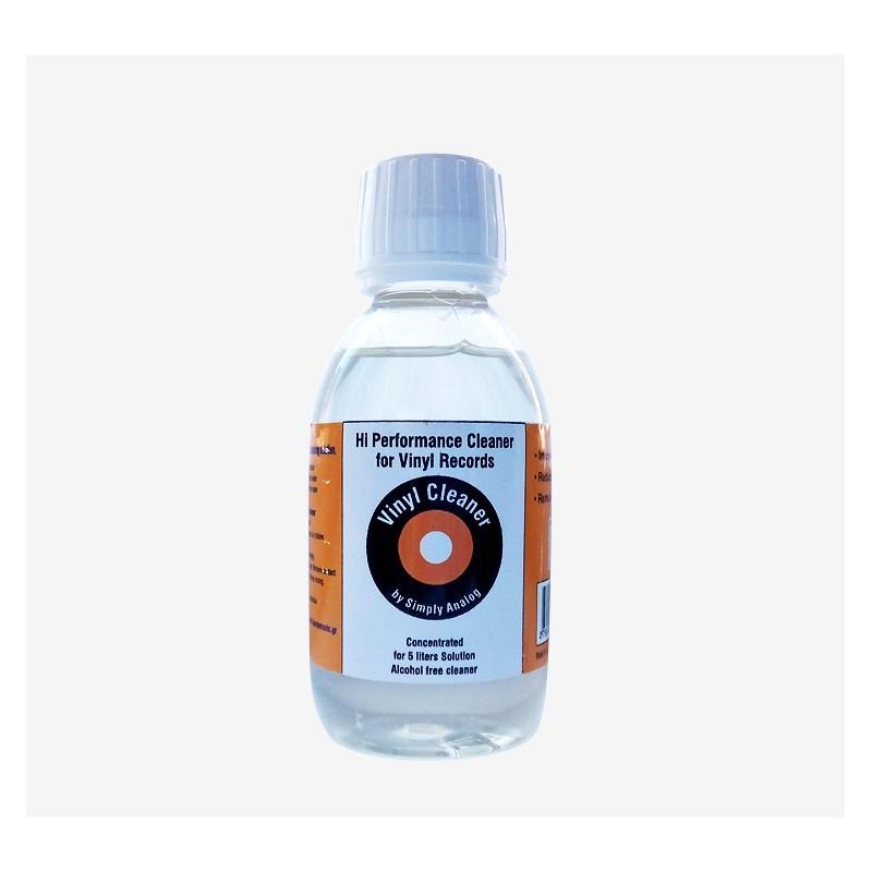 Liquide concentré pour vinyle - 200ml sans alcool - Simply Analog