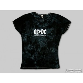 T-Shirt AC/DC - Back In Black - Ado - Large
