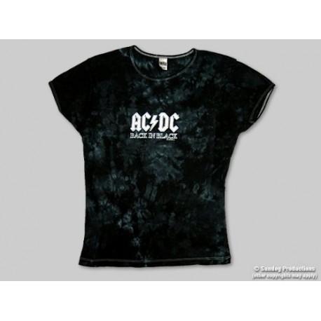 T-Shirt AC/DC - Back In Black - Ado -Small