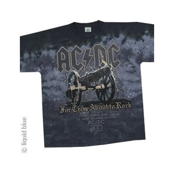 T-Shirt AC/DC - Cannon - Homme - Medium