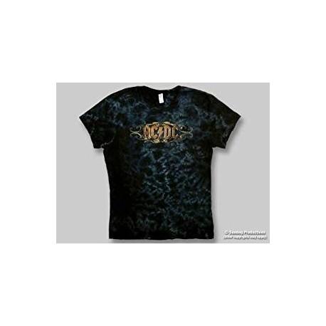 T-Shirt AC/DC - Scroll - Femme - Large