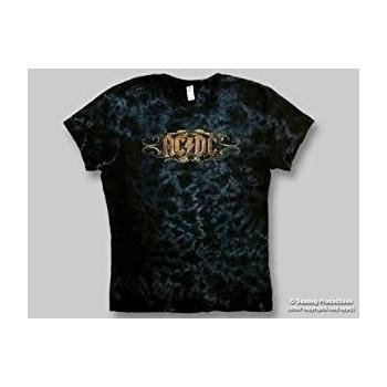 T-Shirt AC/DC - Scroll - Femme - Small