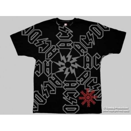 T-Shirt AC/DC - Spiral Logo - Homme - Small