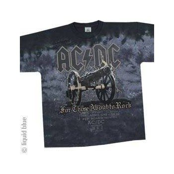 T-Shirt AC/DC - Cannon - Homme - X Large