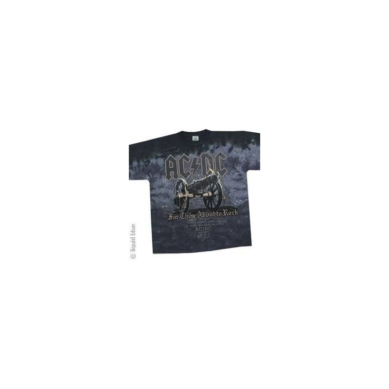 T-Shirt AC/DC - Cannon - Homme - X Large