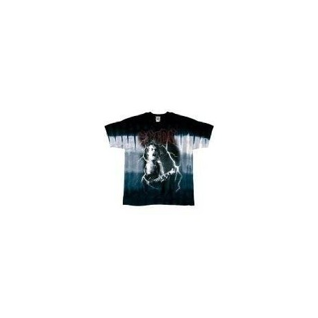 T-Shirt AC/DC - Angus Tie Dye - Homme - Large