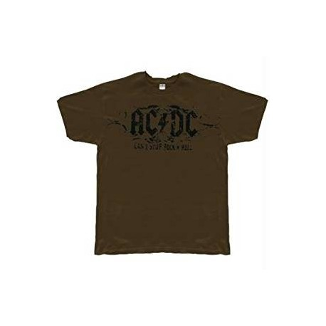 T-Shirt AC/DC - Cant Stop Rock N Roll Soft - Homme - X Large