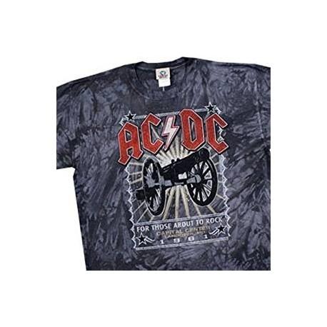 T-Shirt AC/DC - Live Cannon 81 - Homme - XX Large
