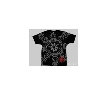 T-Shirt AC/DC - Spiral Logo - Homme - X Large