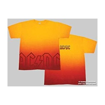 T-Shirt AC/DC - Sunset - Homme - Small
