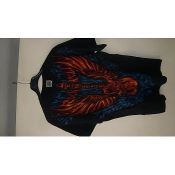 T-Shirt Blazing Guitar - Homme - X Large