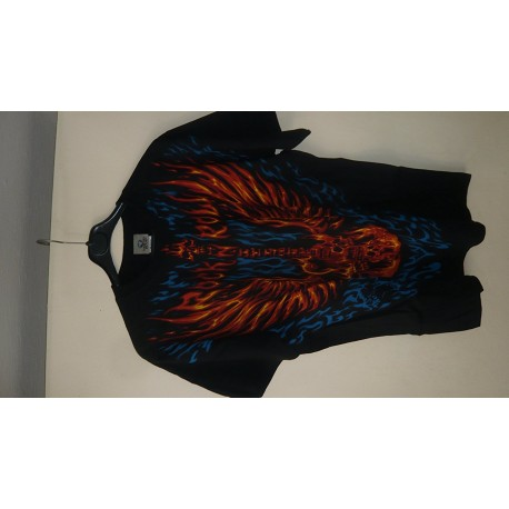 T-Shirt Blazing Guitar - Homme - X Large