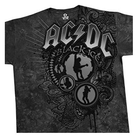 T-Shirt AC/DC - Black Shadow - Homme - X Large