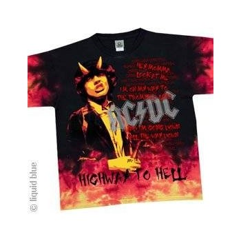 T-Shirt AC/DC - Hell - Homme - X Large