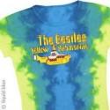 T-Shirt Beatles - Yellow Submarine Logo - Femme - Large