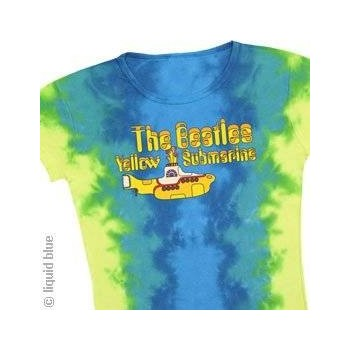 T-Shirt Beatles - Yellow Submarine Logo - Femme - Large