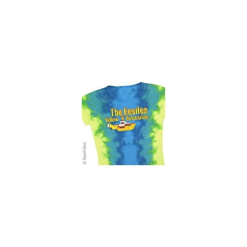 Beatles - Yellow Submarine Logo - Femme - Large (T-Shirt)