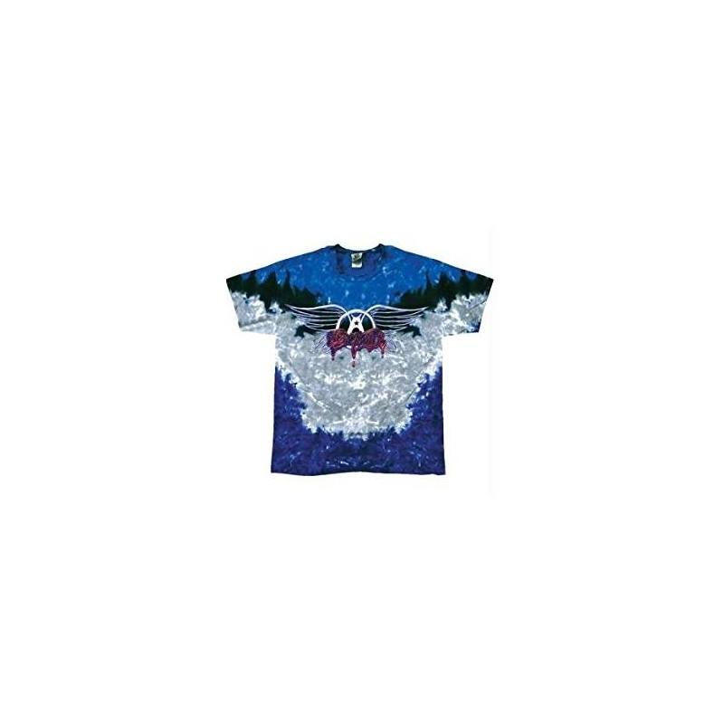 T-Shirt Aerosmith - Drip Logo Tie Dye - Homme - X Large