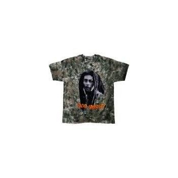 T-Shirt Bob Marley - Look Tie Dye - Homme - Large