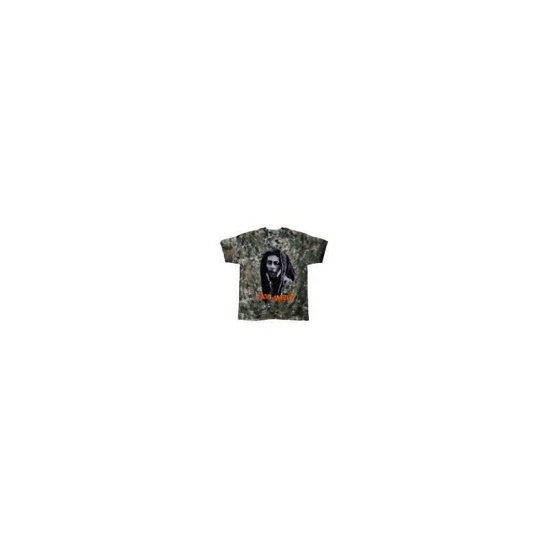 T-Shirt Bob Marley - Look Tie Dye - Homme - X Large