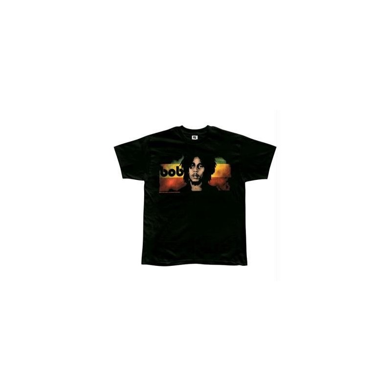 T-Shirt Bob Marley - Straight On - Homme - Large