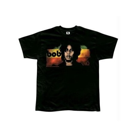 T-Shirt Bob Marley - Straight On - Homme - X Large