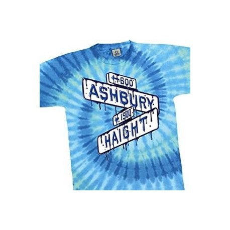 T-Shirt Grateful Dead - Haight Ash Spiral - X Large