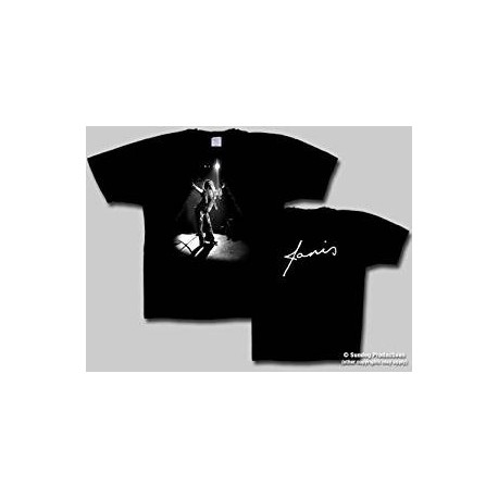 T-Shirt Janis Joplin -Piece Of My Heart Crinkle - Homme -Small