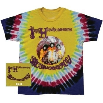 T-Shirt Jimi Hendrix - Experienced Tie Dye - Homme - Large
