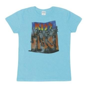 T-Shirt Kiss - Full Color - Femme - Medium