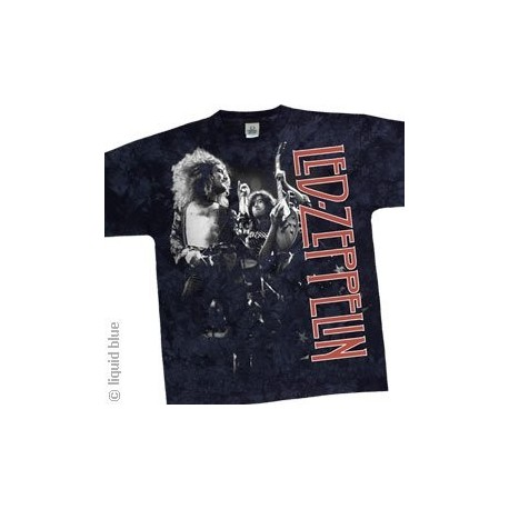 T-Shirt Led Zeppelin - Live - Large